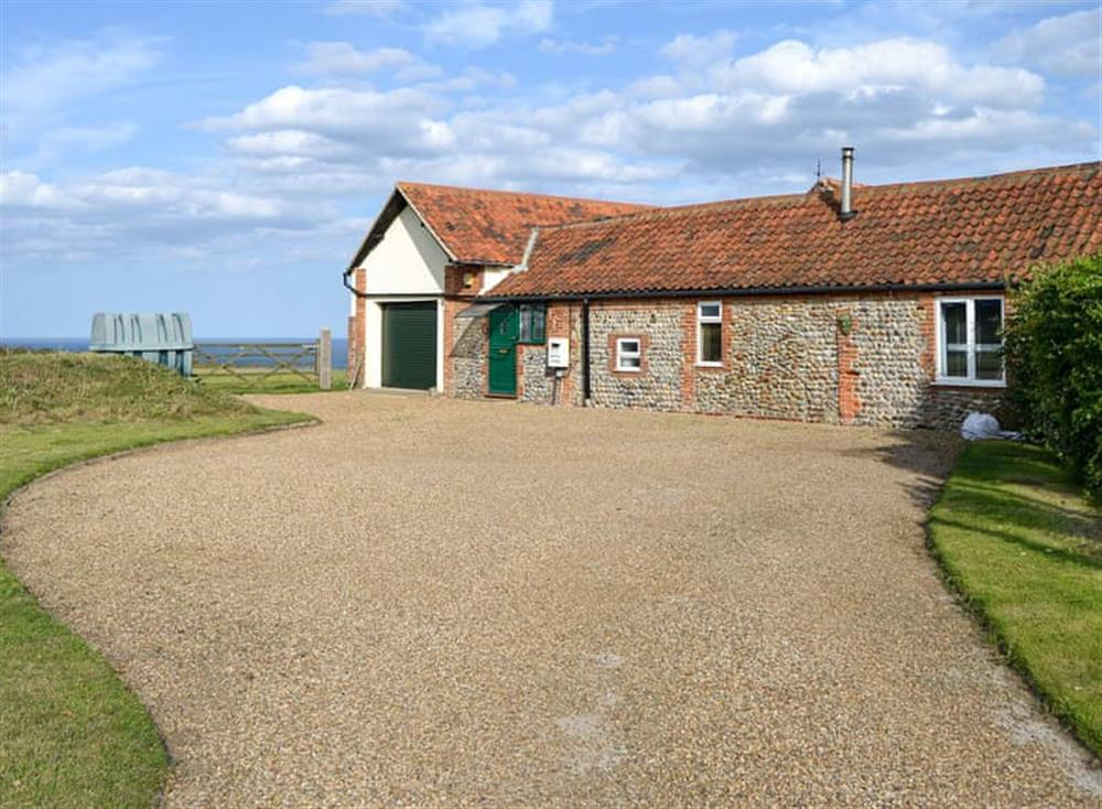 Wonderful coastal property with sea views at Bullock Cottage in Trimingham, near North Walsham, Norfolk