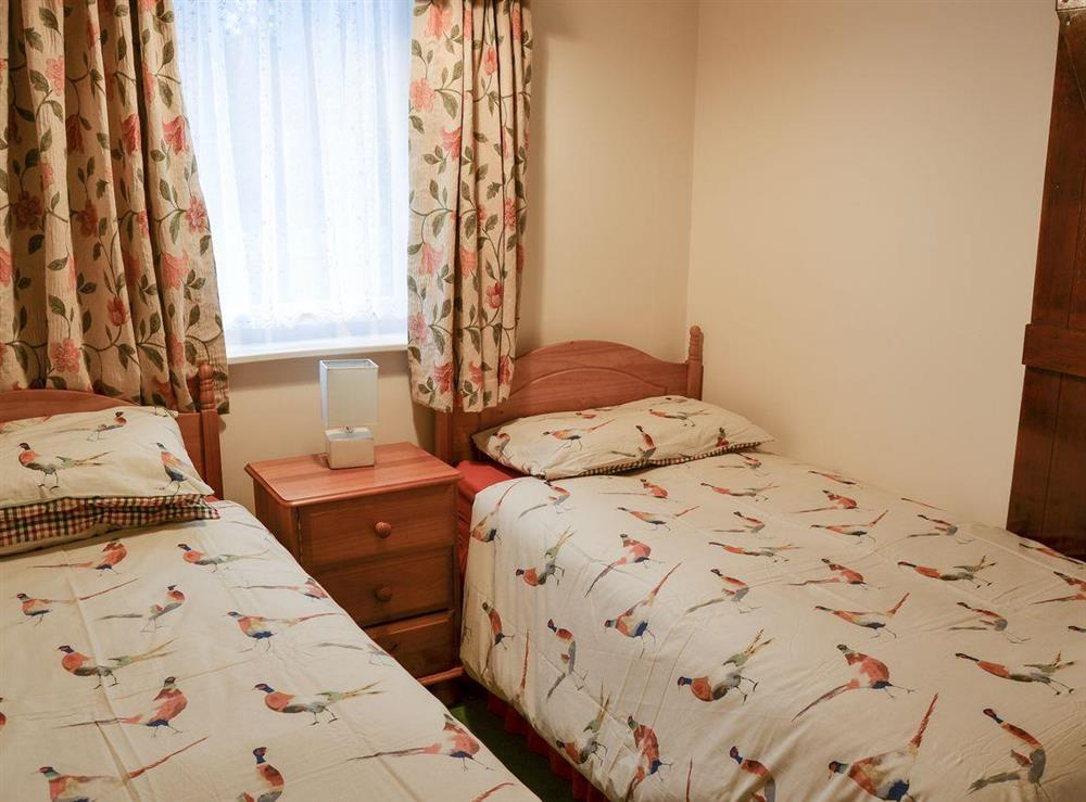 Twin bedroom at Bullrushes in Horning, near Wroxham, Norfolk