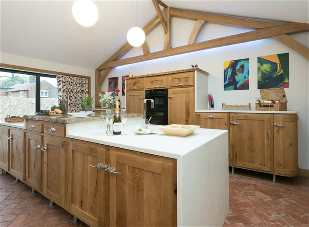 Kitchen at Bumblebee Cottage in Geldeston, near Beccles, Norfolk