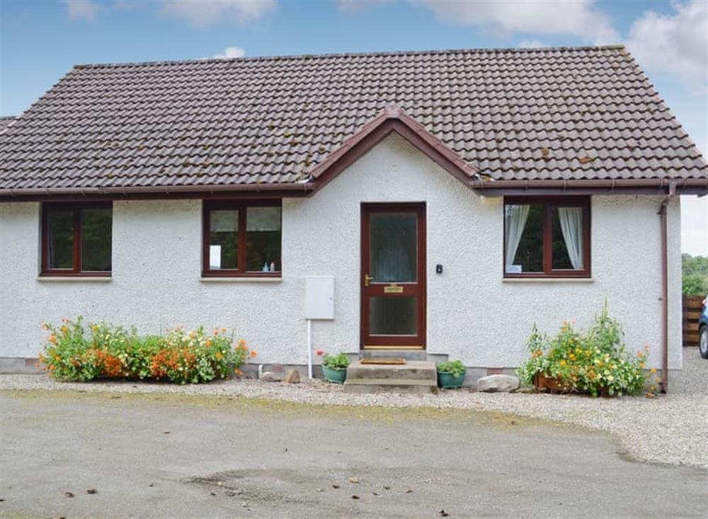 Exterior (photo 2) at Burn Cottage in Lairg, near Golspie, Sutherland