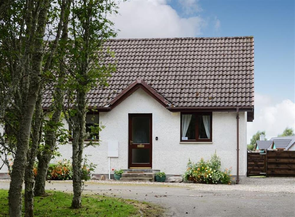 Exterior at Burn Cottage in Lairg, near Golspie, Sutherland