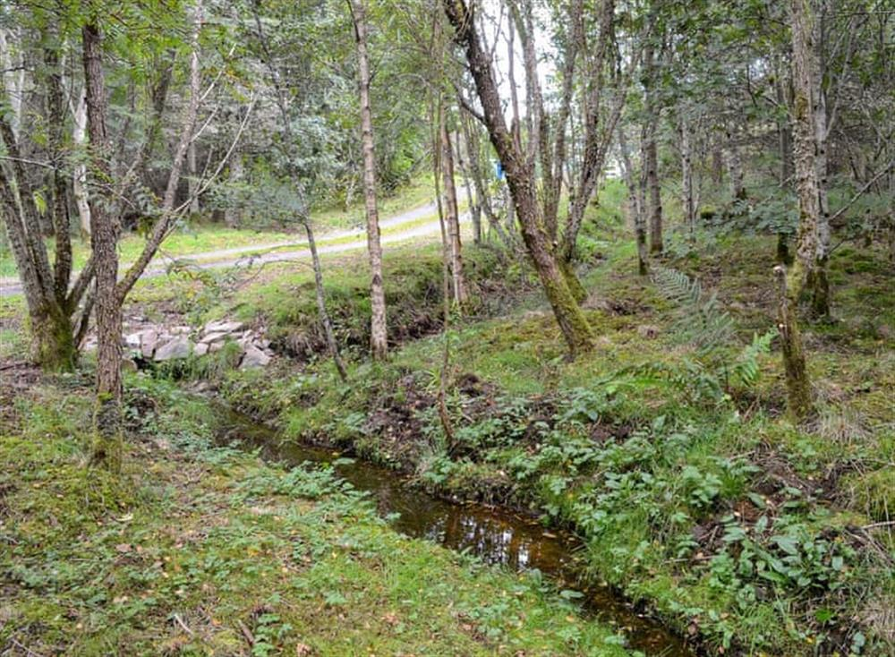 Surrounding area at Burn Cottage in Lairg, near Golspie, Sutherland