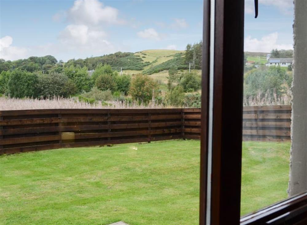 View at Burn Cottage in Lairg, near Golspie, Sutherland