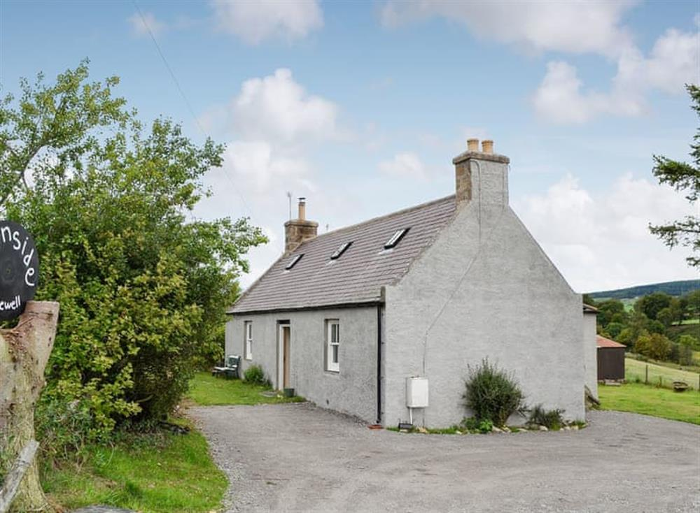 Charming detached cottage suffused with old world charm at Burnside in Aboyne, Banchory, Aberdeenshire