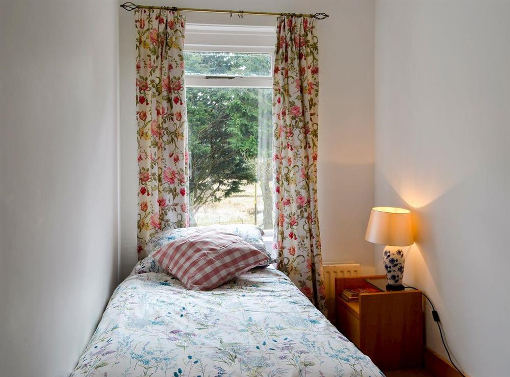 Single bedroom at Burnside Cottage in Tormitchell, near Girvan, Ayrshire