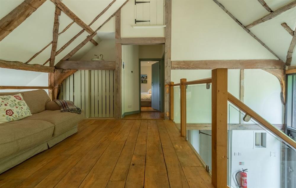 First floor: Mezzanine landing area