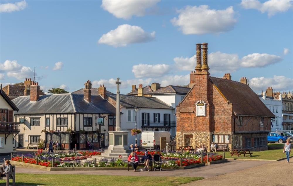 Nearby town of Aldeburgh