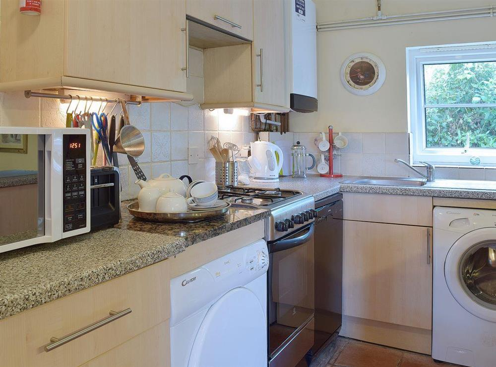 Bright and airy kitchen area at Butter Pen in Denton, near Bungay, Norfolk