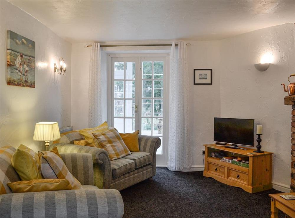 Cosy lounge area at Bwthyn Gwyn in Meliden, near Prestatyn, Denbighshire