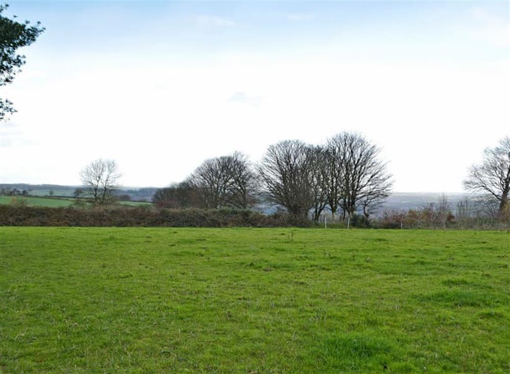 Wonderful rolling countryside at Bwthyn y Gorwel in Bwlch-y-groes, near Crymych, Pembrokeshire, Dyfed
