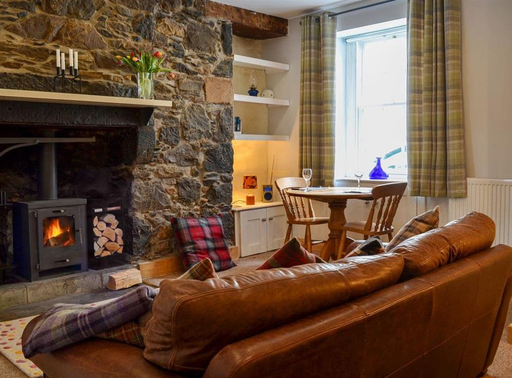Living room at By Glengarioch in Oldmeldrum, near Huntly, Aberdeenshire