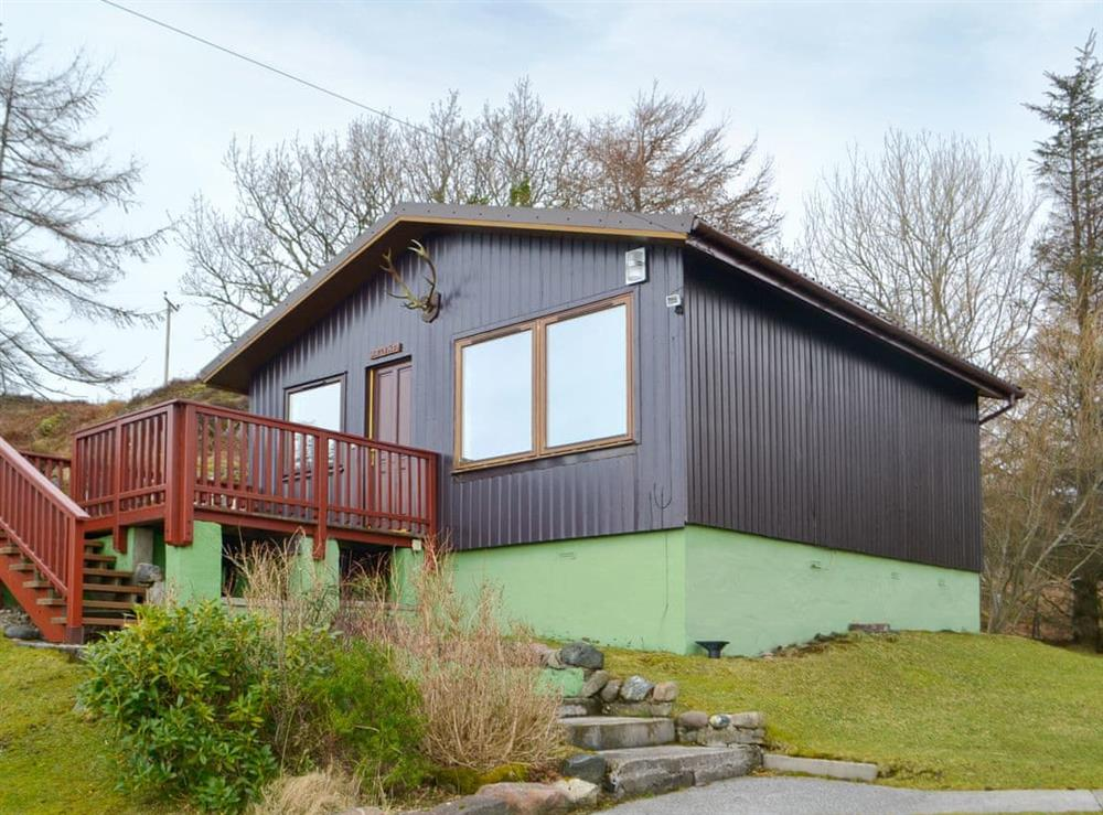 Delightful holiday home at Assynt Chalet,