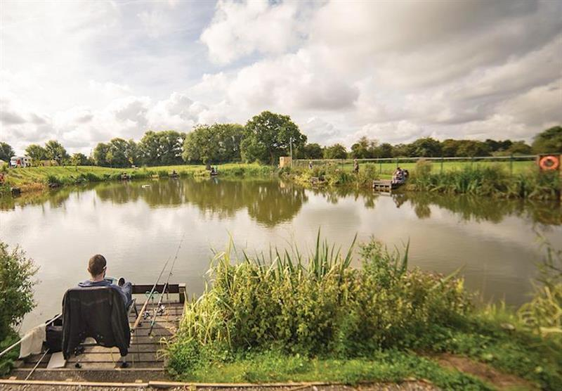 Fishing at Caistor Lakes Lodges in Caistor, Market Rasen