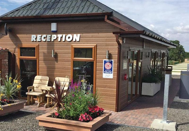 Reception at Caistor Lakes Lodges in Caistor, Market Rasen