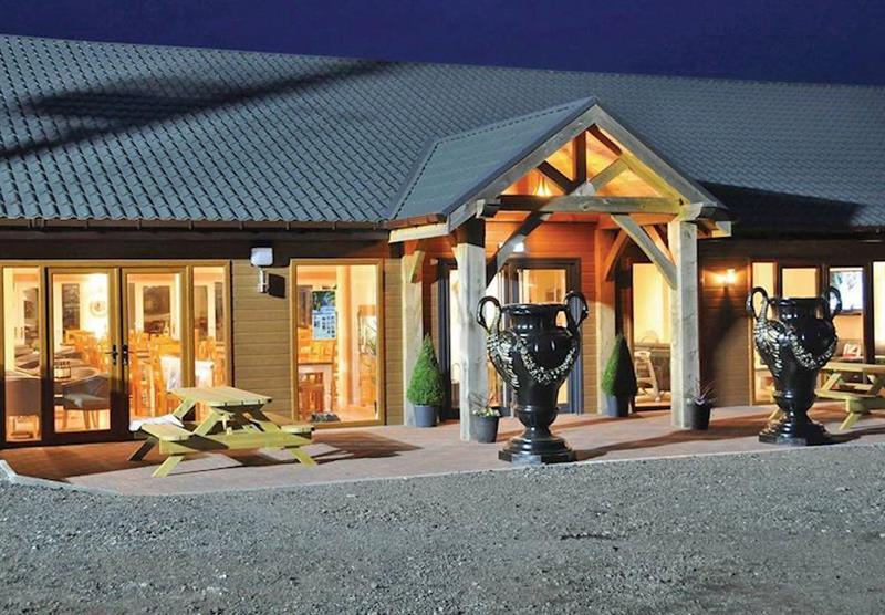 Restaurant at Caistor Lakes Lodges in Caistor, Market Rasen