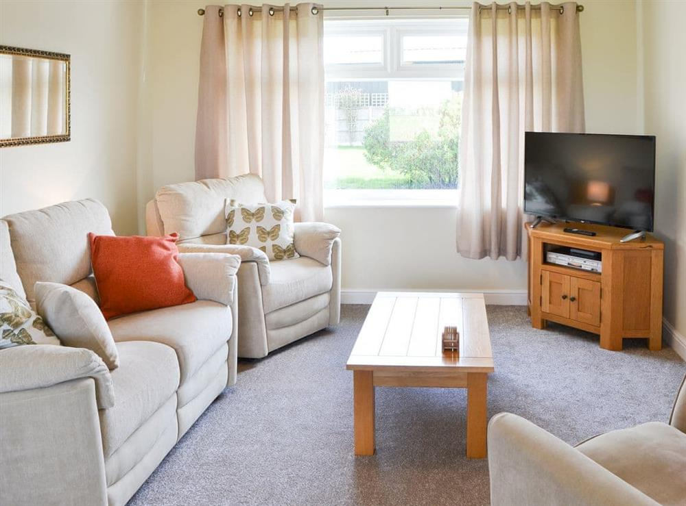 Comfortable and relaxing living area at California Halt in California, near Great Yarmouth, Norfolk