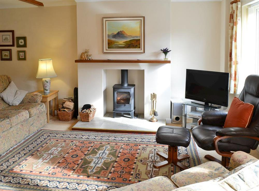 Living room at Camelot in Weybourne, near Holt, Norfolk., Great Britain