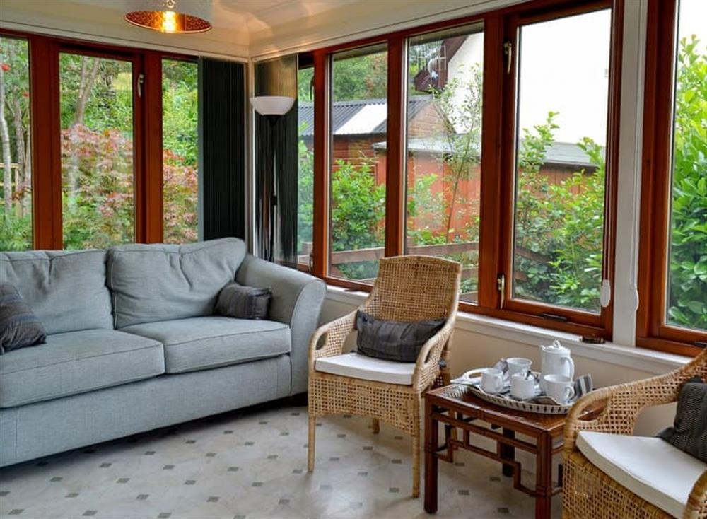 Bright and airy sun room