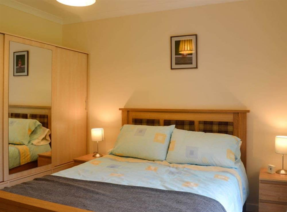Double bedroom at Cameron Lodge Cottage in Innellan, near Dunoon, Argyll
