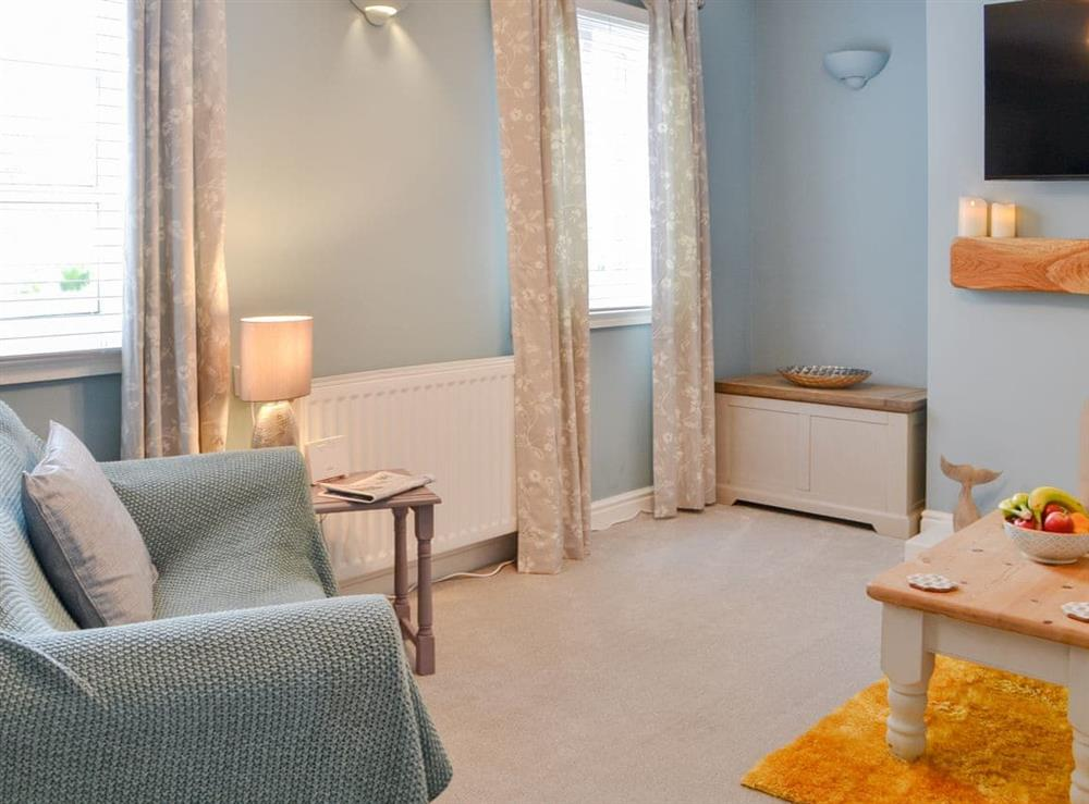 Living room at Camoor Cottage in Hornsea, North Humberside