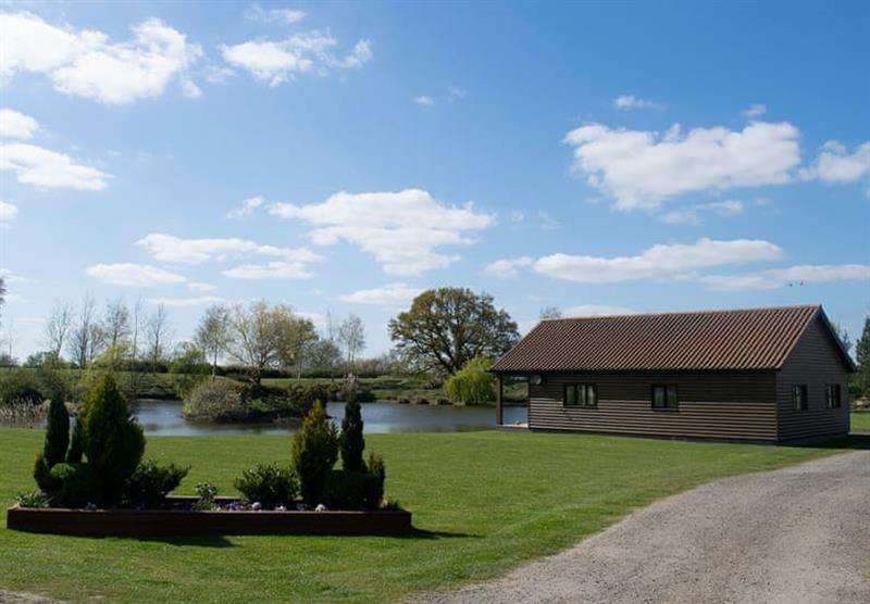 The grounds at Camper UK Leisure Park in Swinethorpe, Nr Lincoln