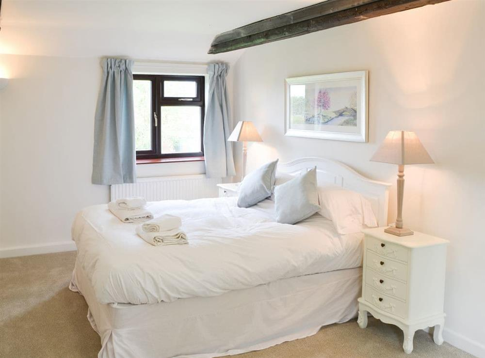 Double bedroom at Canal View House in Swafield, near North Walsham, Norfolk