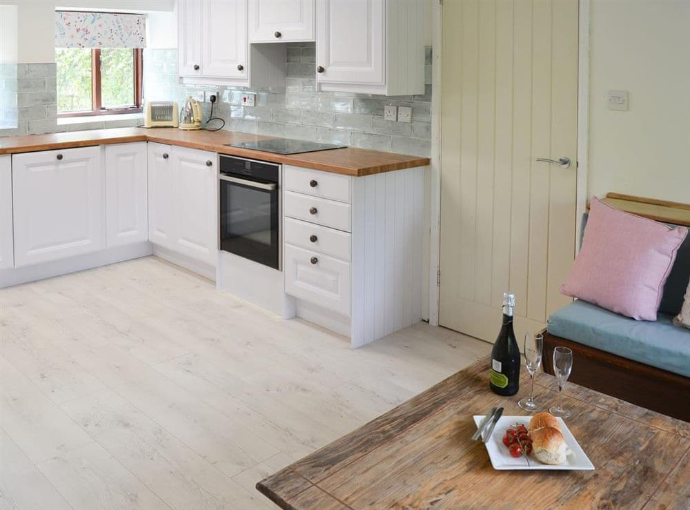 Kitchen at Canal View House in Swafield, near North Walsham, Norfolk
