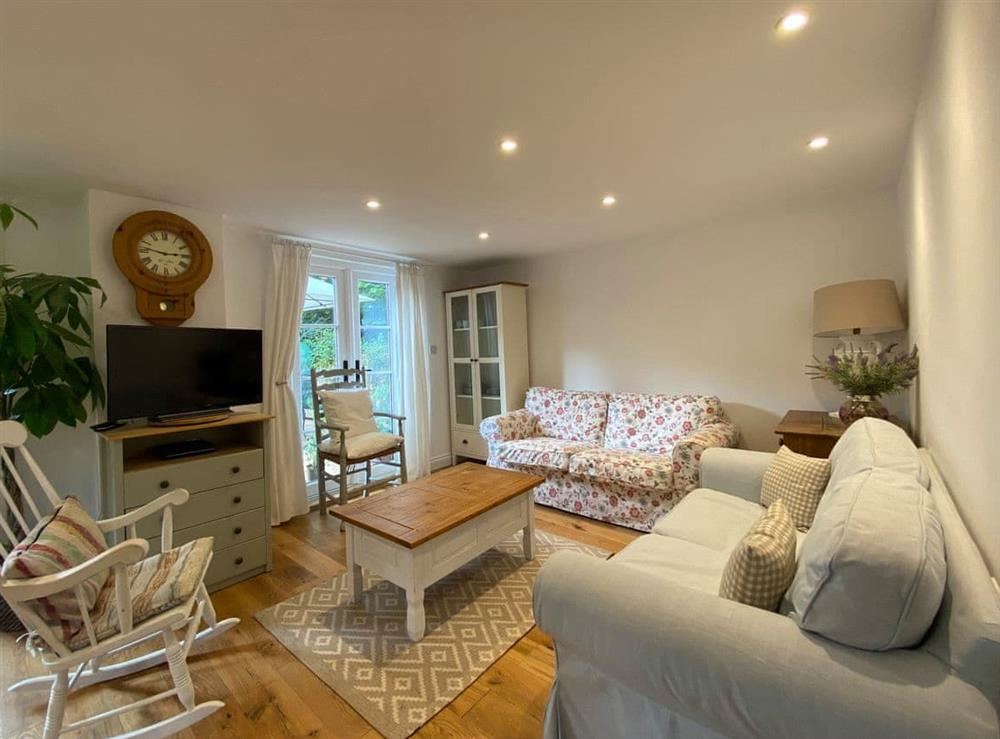 Living area at Candlewick Cottage in Lower Heyford near Bicester, Oxfordshire