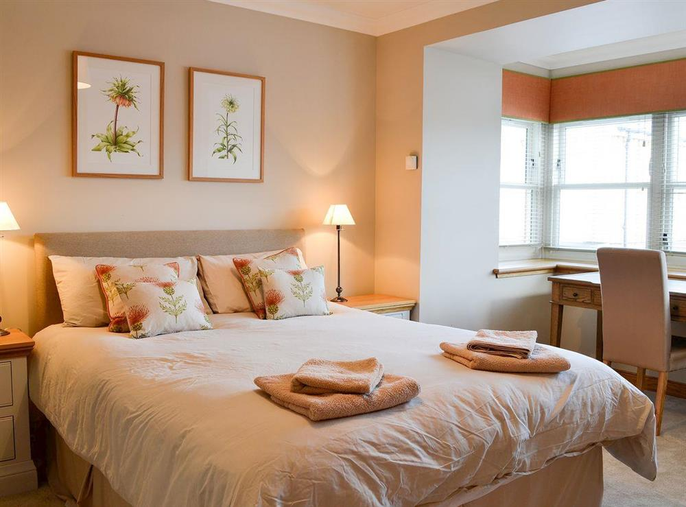 Lovely double bedroom at Canterland Lodge in Marykirk, near Montrose, Aberdeenshire, Scotland