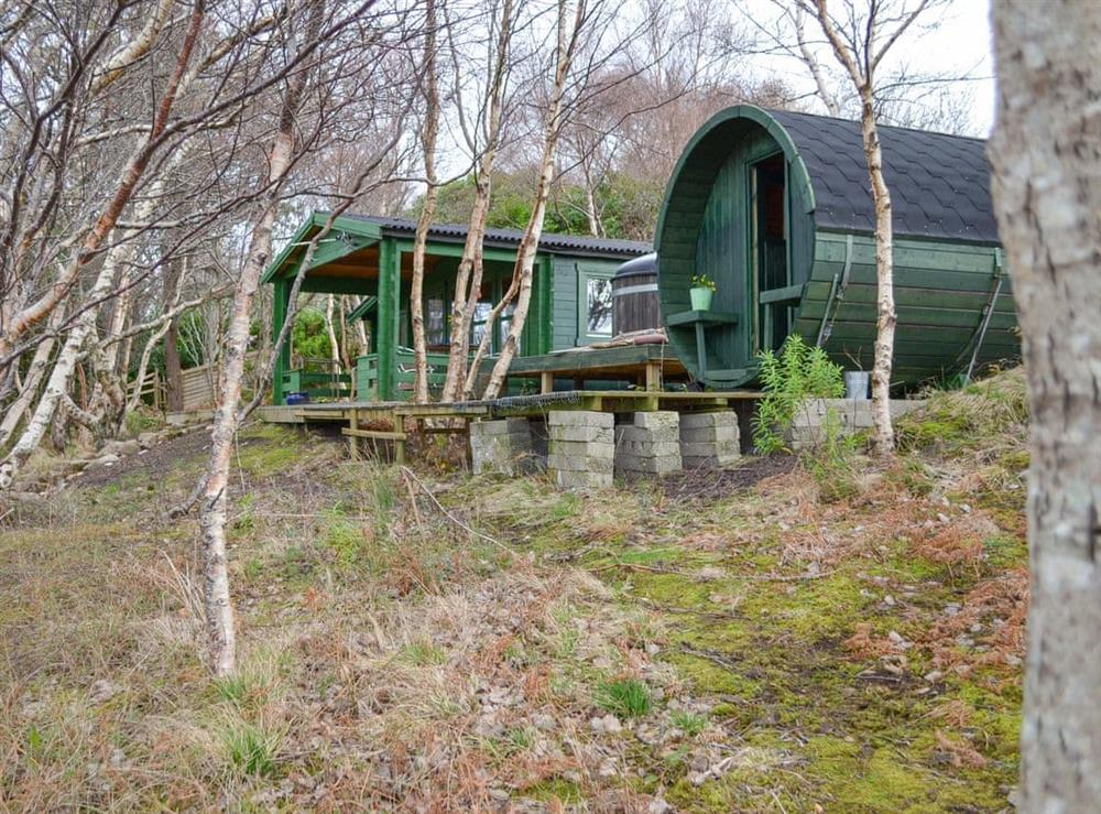 Exterior at Captains Cabin & Barrel in Dry Island, near Gairloch, Ross-Shire