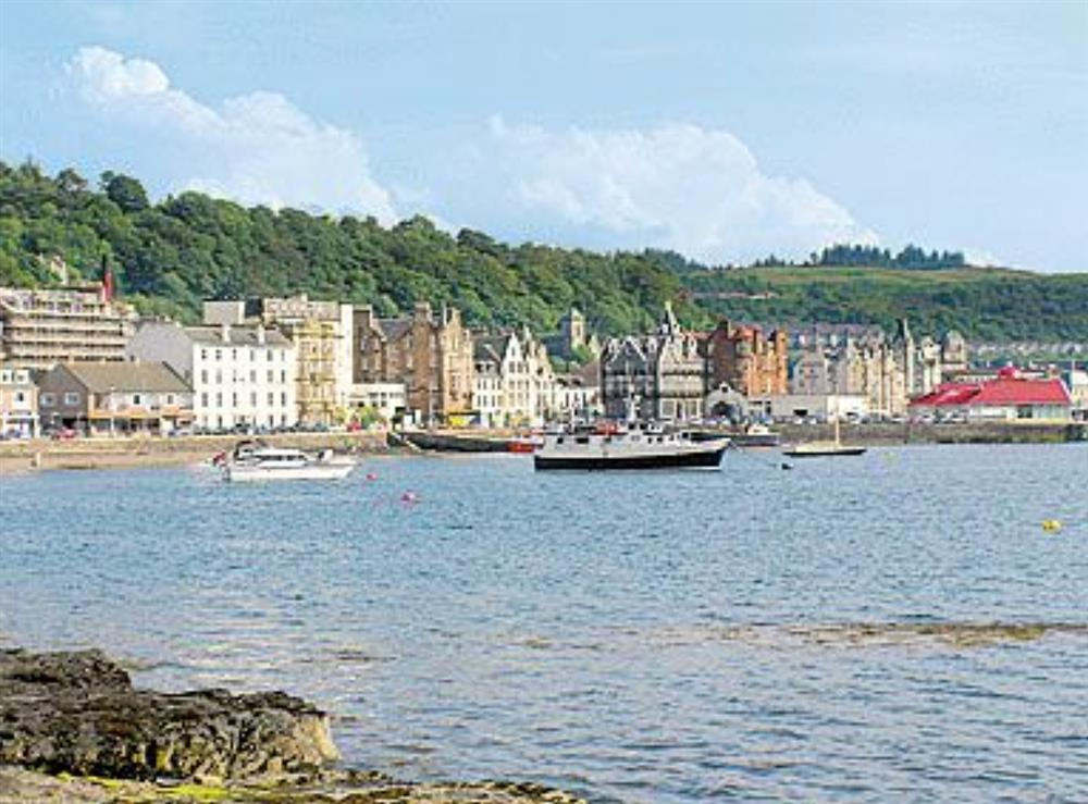 Surrounding area at Captain's Folly in Oban, Argyll