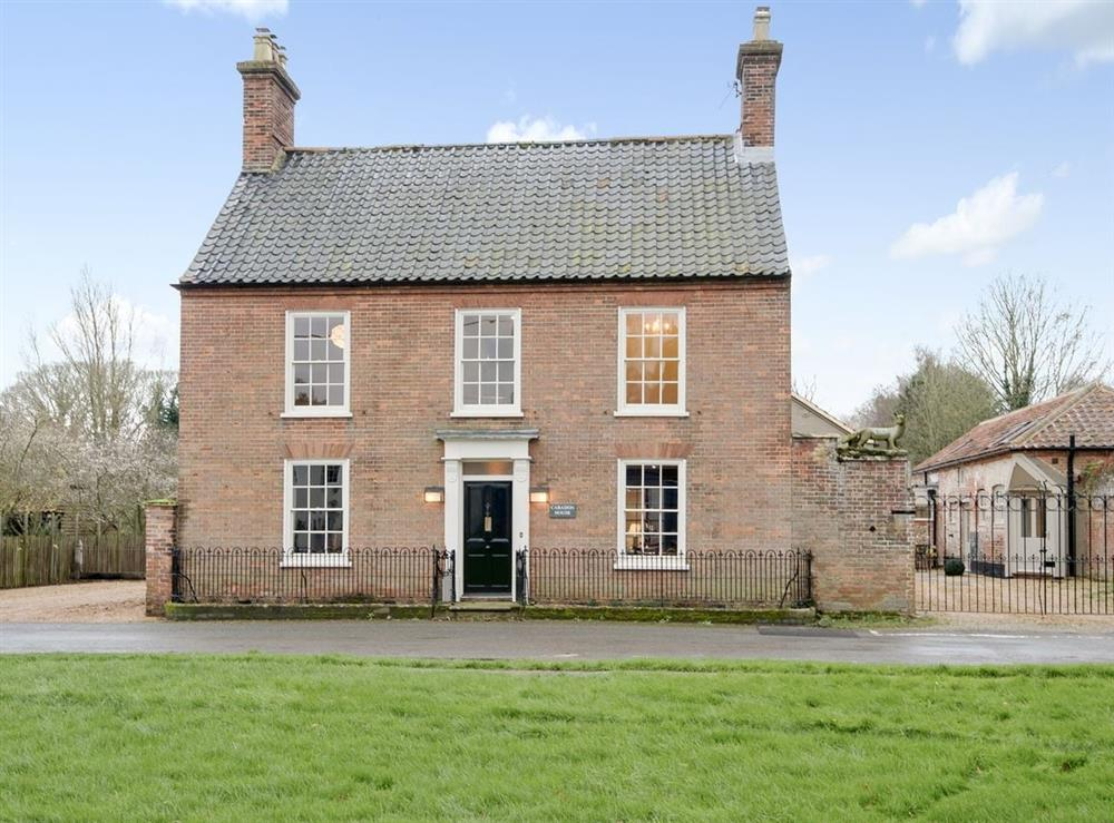 Exterior at Caradon House in East Rudham, near Fakenham, Norfolk