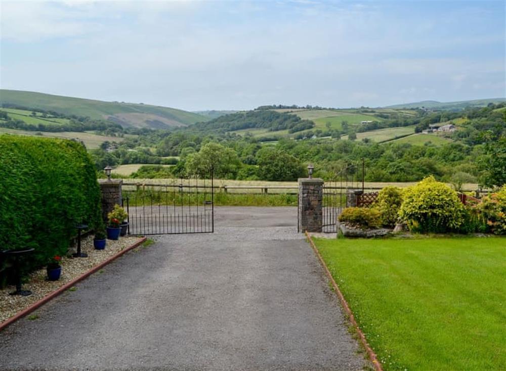 Views of the rolling hills at Carn-Gwyn Annexe in Blackmill, near Bridgend, Glamorgan, Mid Glamorgan