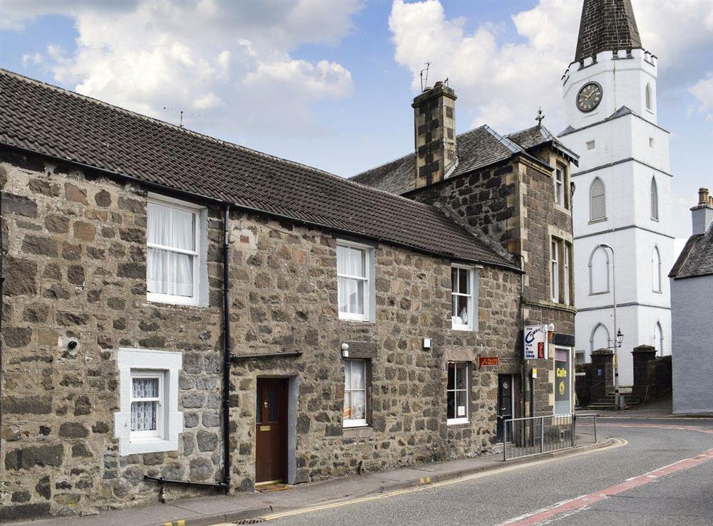 Lovely terraced holiday cottage at Caroch Cottage in Comrie, near Crieff, Perthshire