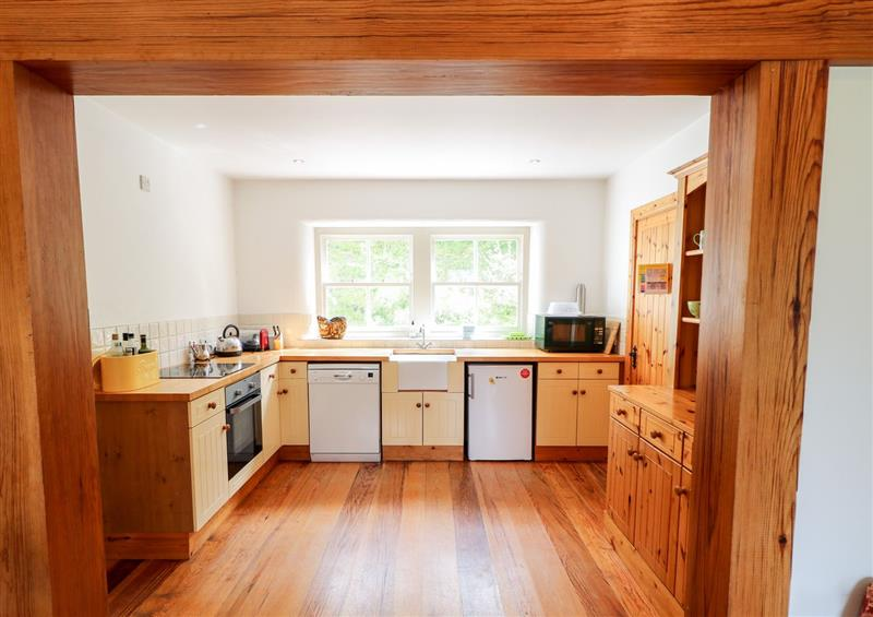 The kitchen at Carraig Cottage, Carrigart