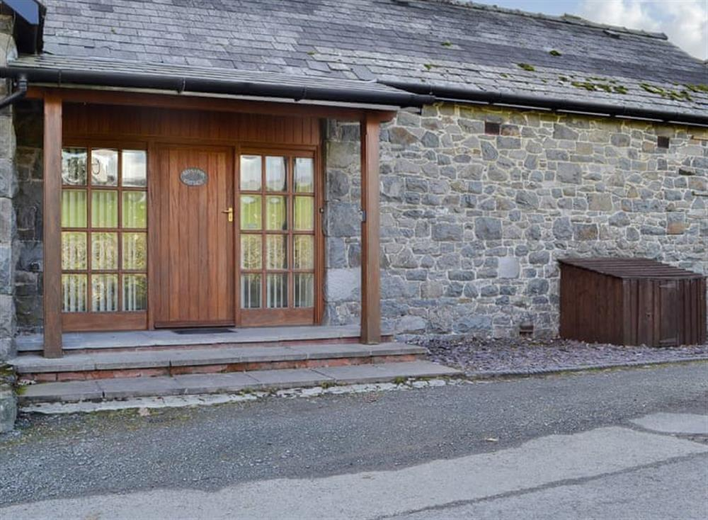 Charming Welsh slate cottage at Brynafon Cottage,