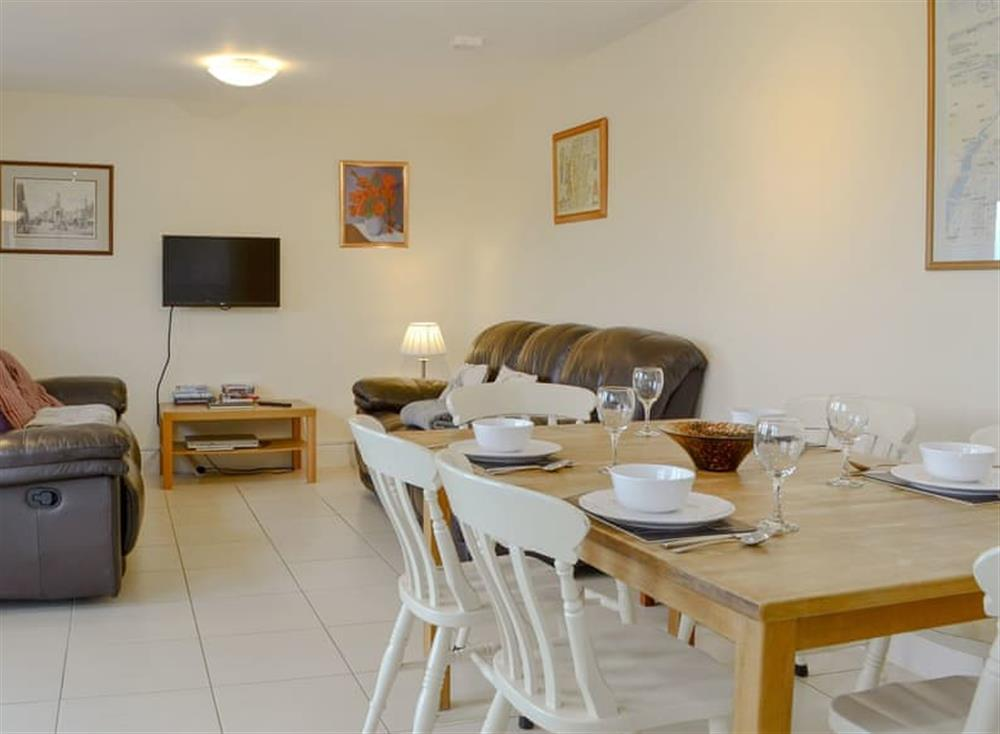 Attractive open plan living space at Carribber Beech in Near Linlithgow, West Lothian
