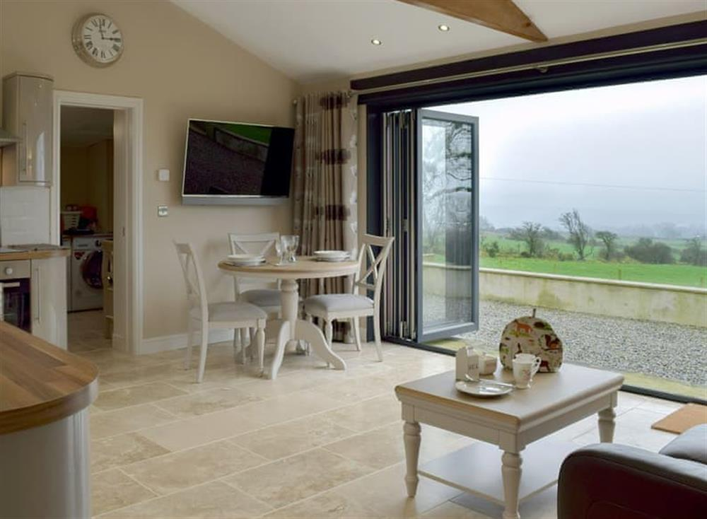 Stunning open plan living space with amazing views at Castle Farm in Tufton, near Haverfordwest, Dyfed