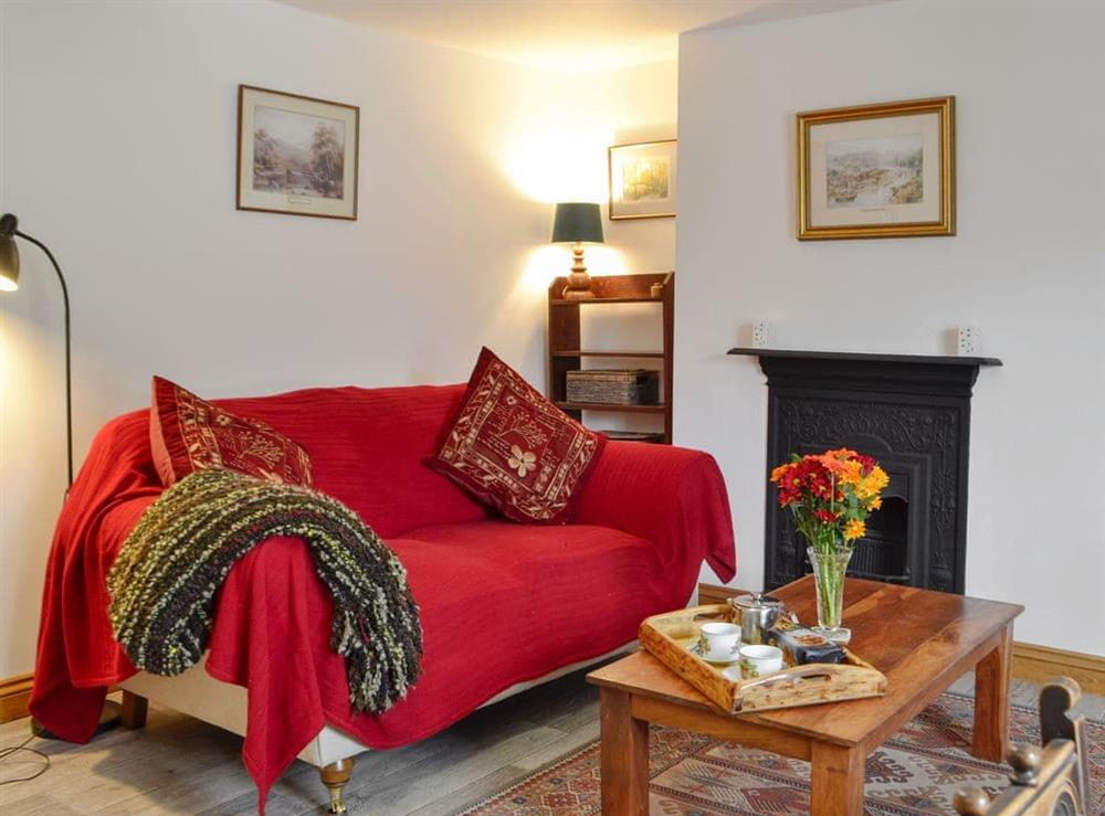 Living area at Skenfrith,