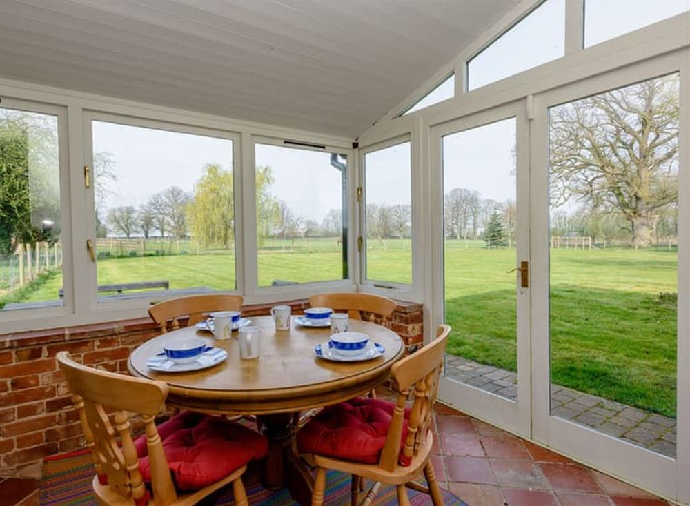 Dining area (photo 2) at Castle Lodge in Mettingham, England