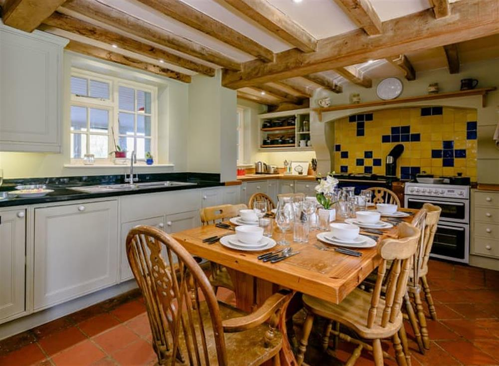 Kitchen diner (photo 2) at Castle Lodge in Mettingham, England