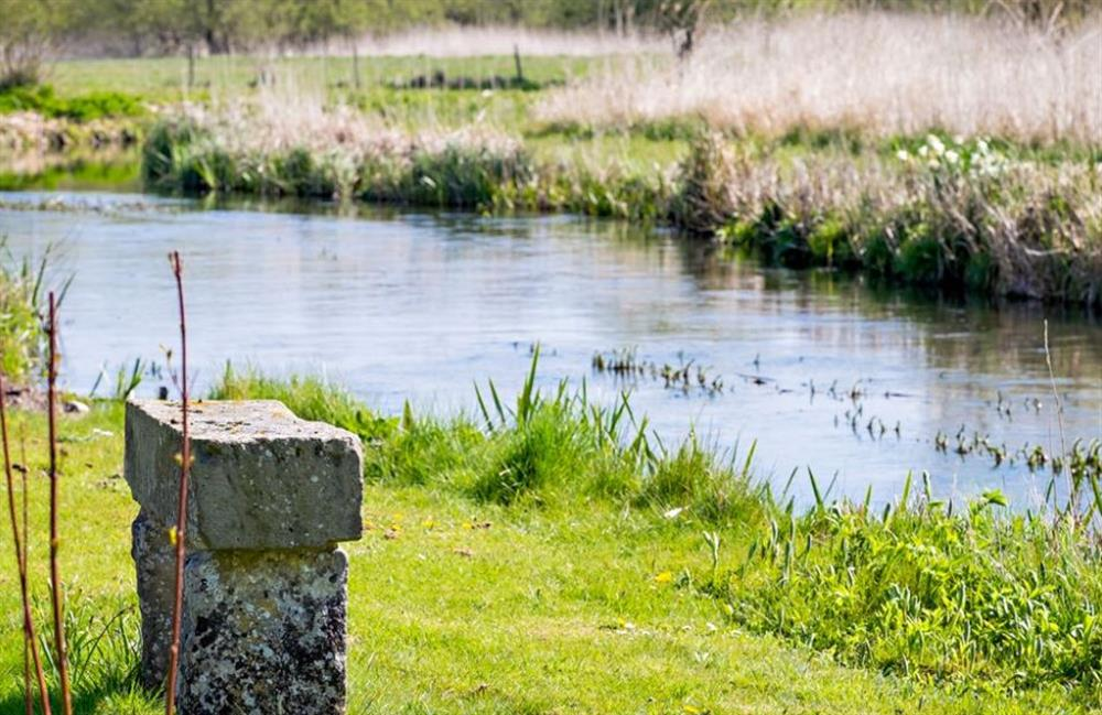 River at Catch of the Day, Stockbridge, Hampshire