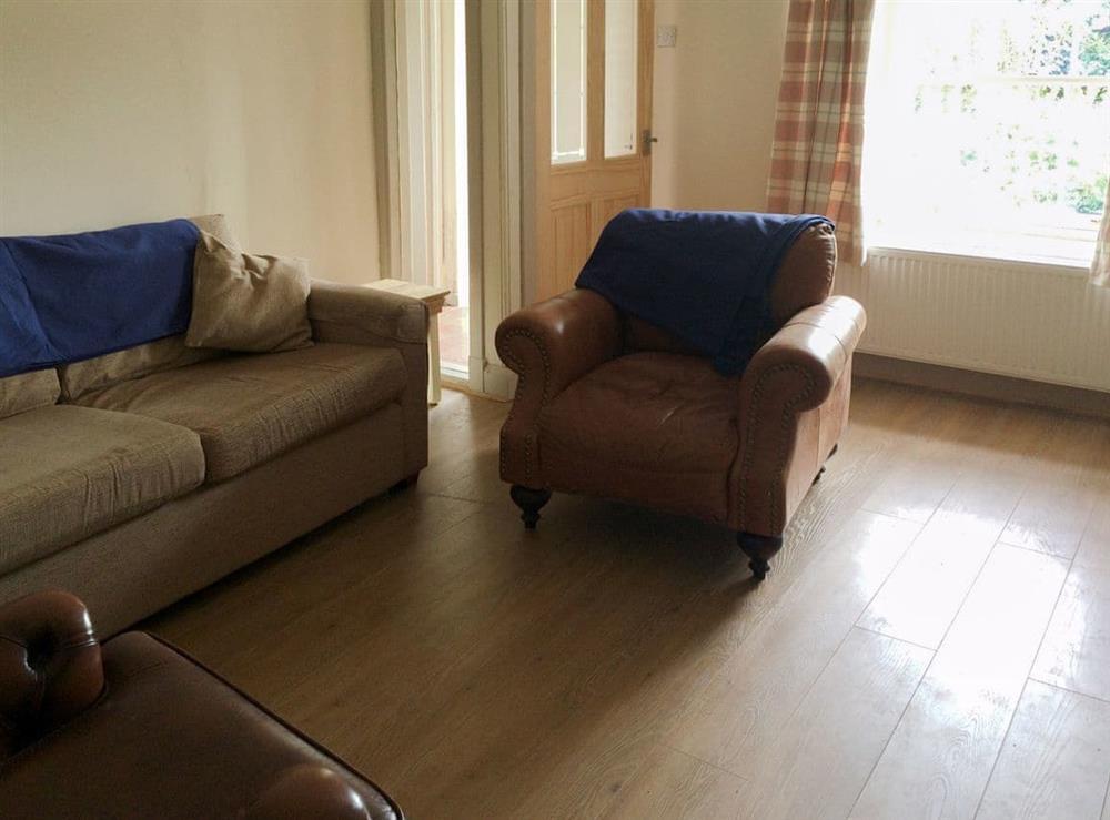 Living room at Cauldside West Cottage in Dunbar, East Lothian