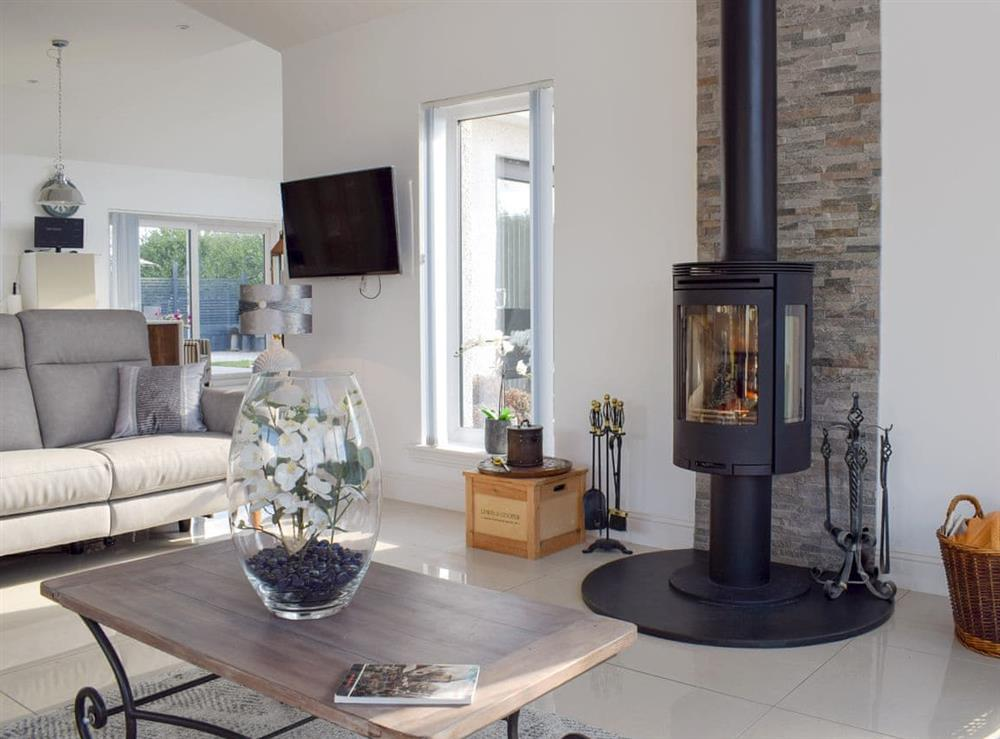 Living area at Causeway Cottage in Kinross, Kinross-Shire