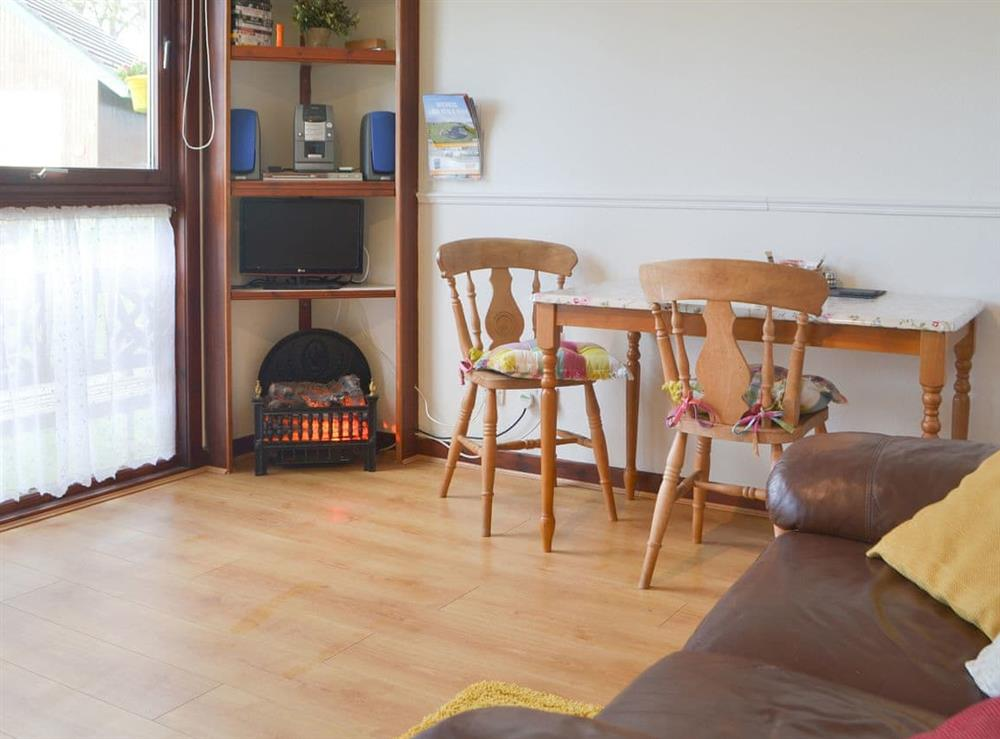 Typical living area (photo 3) at Chalet 2 in Muir of Ord, Ross-Shire