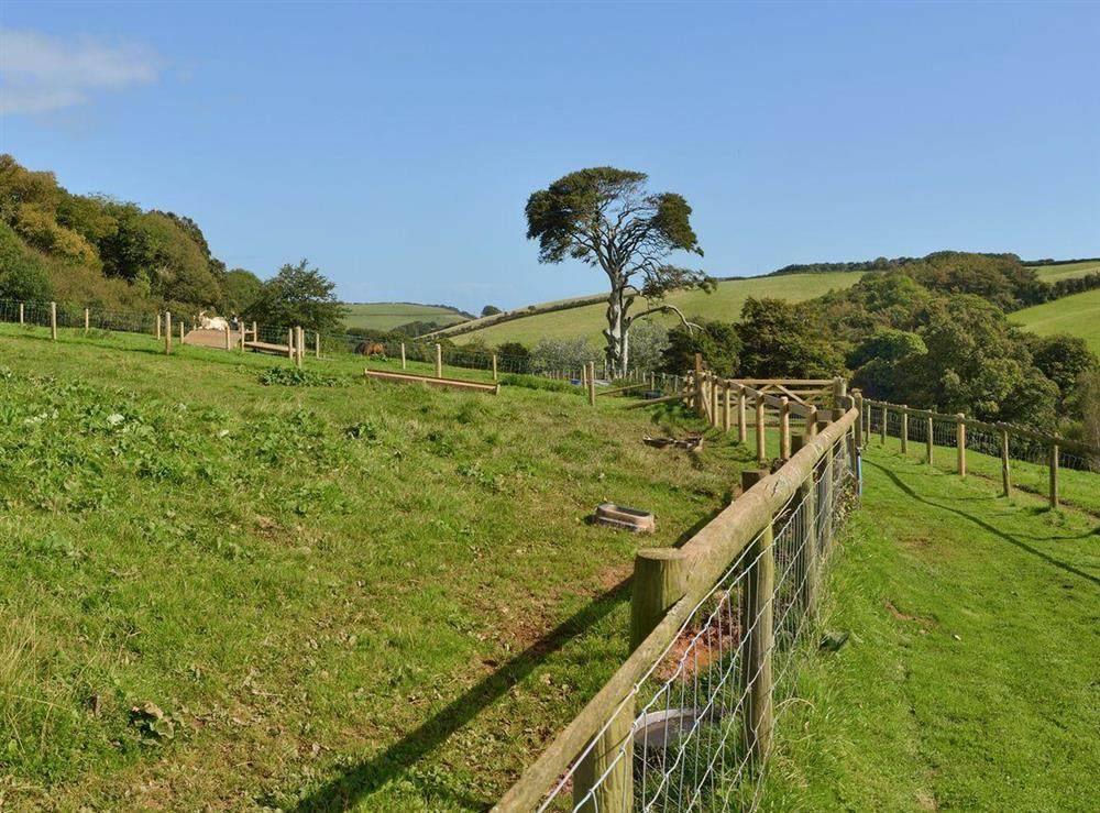 View at Chamomile Cottage in Kingswear, Nr Dartmouth, South Devon., Great Britain