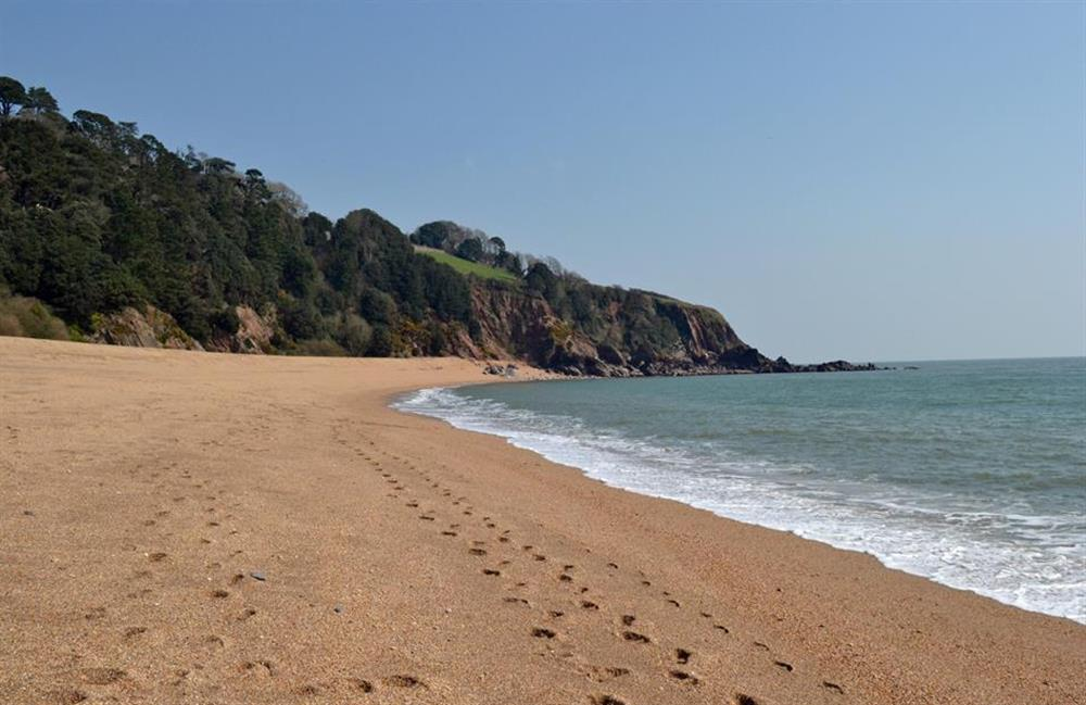 Blackpool Sands is a very popular South Hams beach at Charford Manor, Diptford