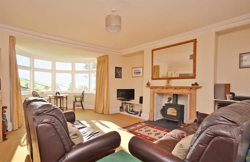 Enjoy one of two large reception rooms at Charford Manor, Diptford