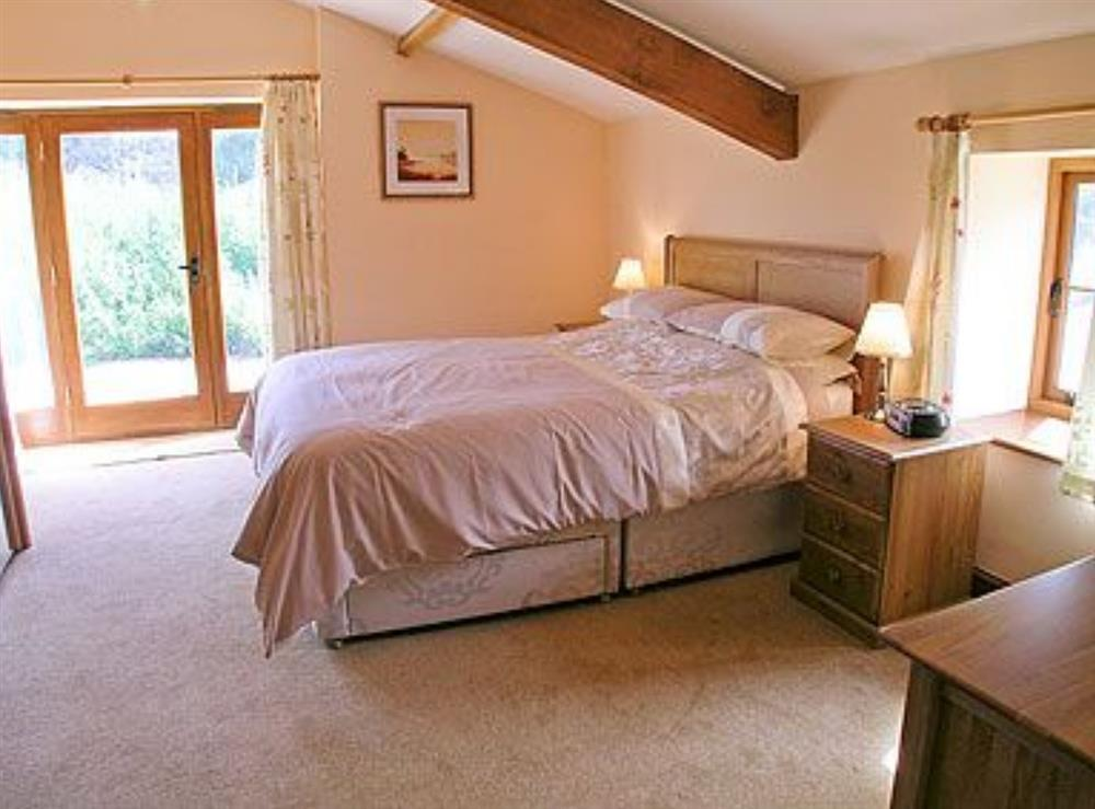 Double bedroom at Barn Owl Cottage,