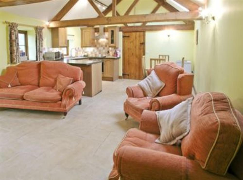 Open plan living/dining room/kitchen at The Old Cattle Stall,